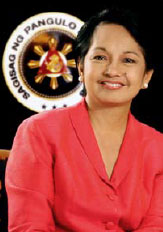 Philippines President Gloria Arroyo: tainted by ZTE scandal